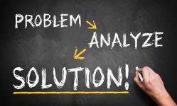problem, analyze, solution
